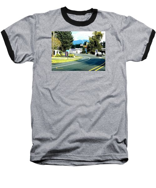 Baseball T-Shirt featuring the photograph Twilight In Forks Wa 2 by Sadie Reneau