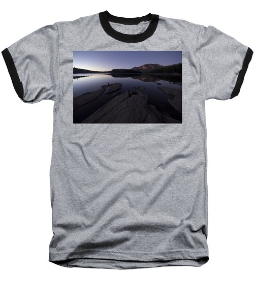 Twilight On Silver Lake Baseball T-Shirt