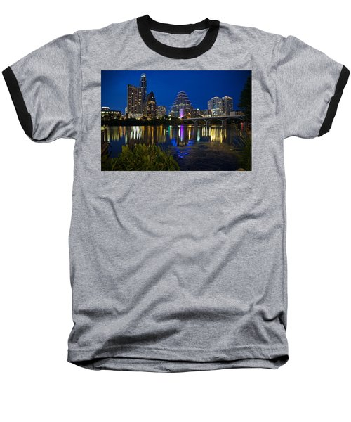Twilight Reflections Baseball T-Shirt