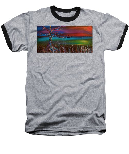 Twilight Sun Baseball T-Shirt