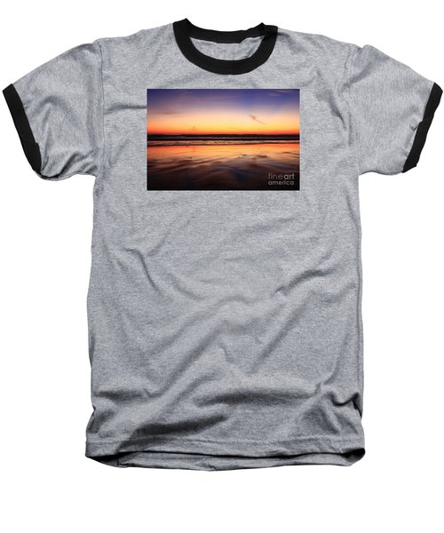 Cardiff By The Sea Glow Baseball T-Shirt