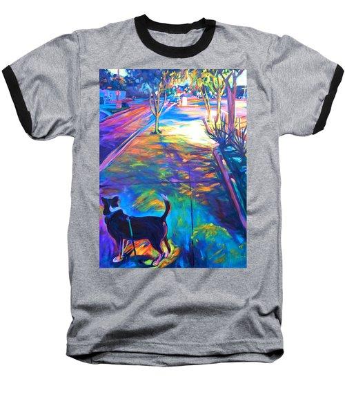 Scout At Twilight Baseball T-Shirt
