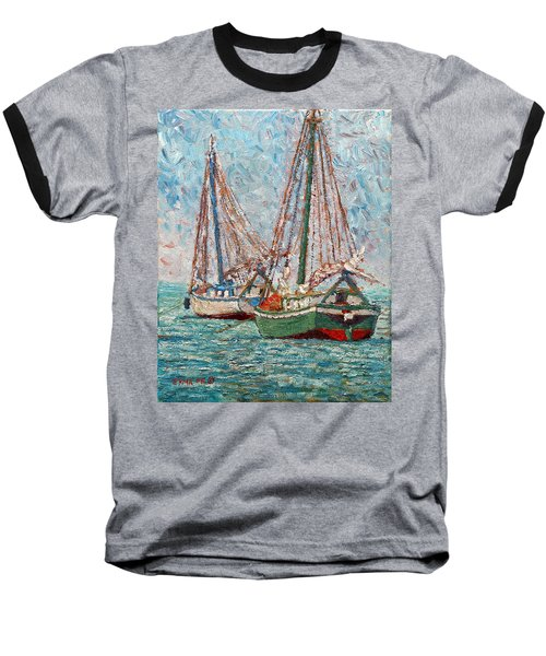 Twin Boats Baseball T-Shirt