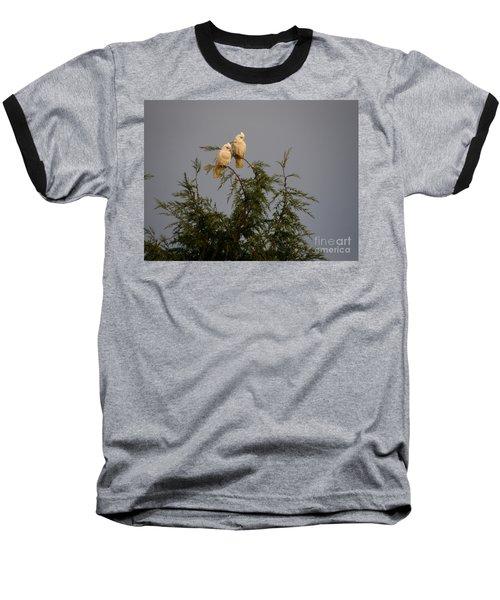 Twin Cockatoos Baseball T-Shirt
