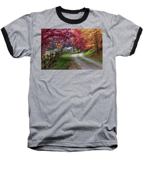 Twin Falls State Park Baseball T-Shirt