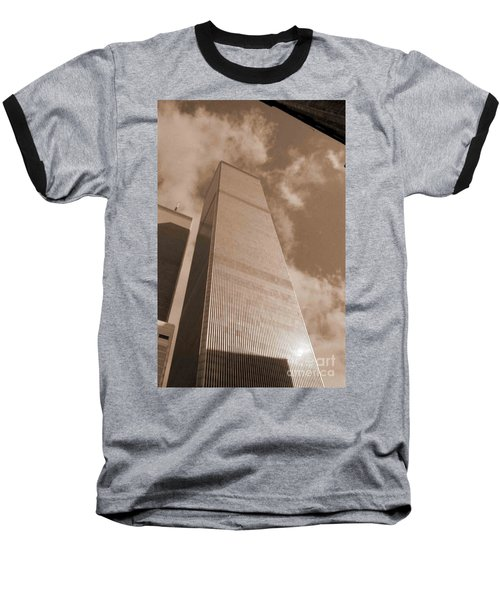 Twin Tower Baseball T-Shirt