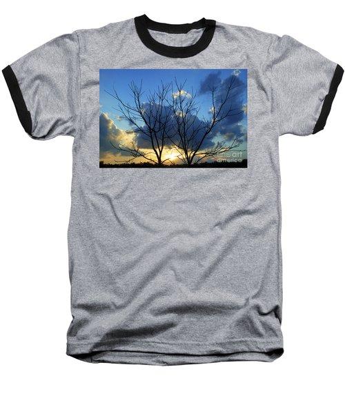 Twin Trees Baseball T-Shirt