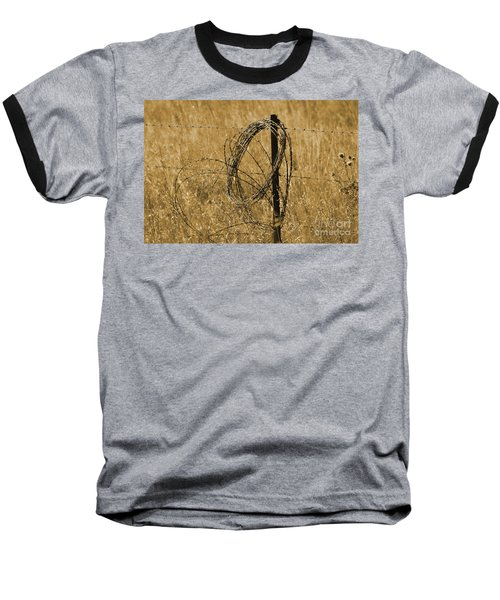 Twisted - Sepia Baseball T-Shirt