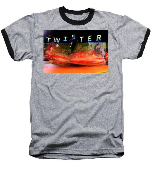 Twister Baseball T-Shirt