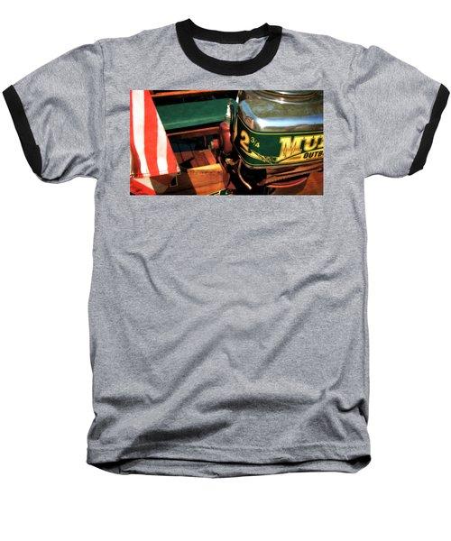 Two And Three Quarters Hp Muncie Outboard Motor Baseball T-Shirt