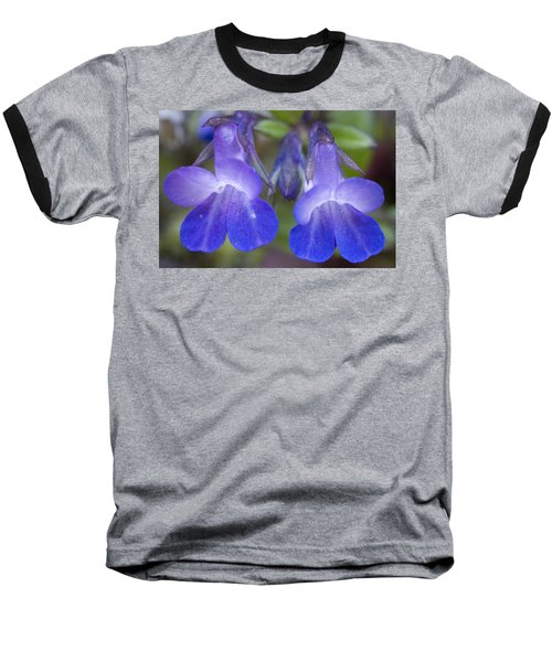 Baseball T-Shirt featuring the photograph Two Blue by Sonya Lang