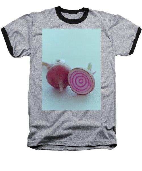 Two Chioggia Beets Baseball T-Shirt