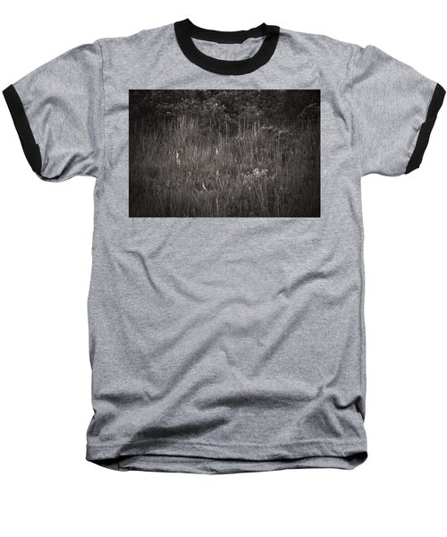 Baseball T-Shirt featuring the photograph Two Deer Hiding by Bradley R Youngberg