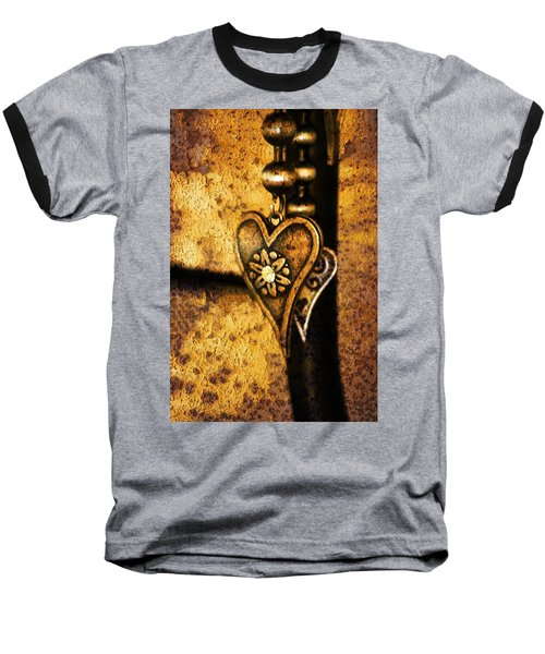 Two Hearts Together Baseball T-Shirt