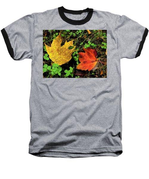 Two Leaves Baseball T-Shirt