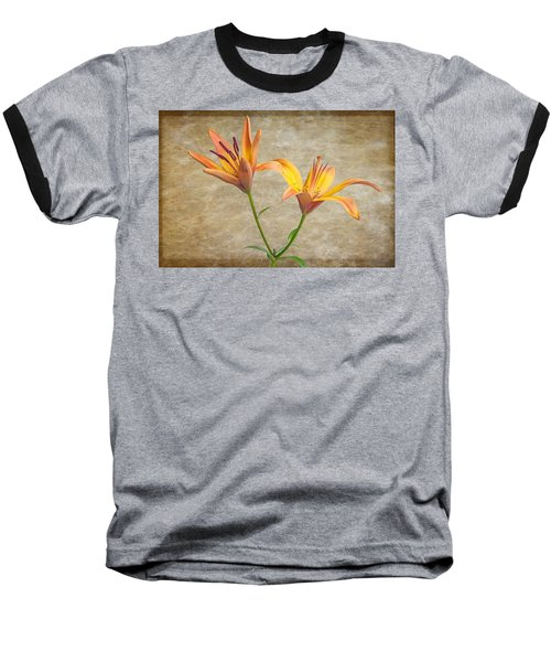 Two Lilies Baseball T-Shirt