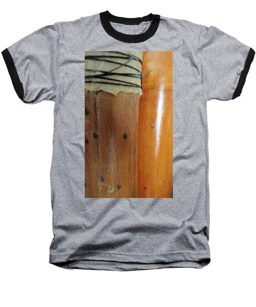 Two Rainsticks Baseball T-Shirt