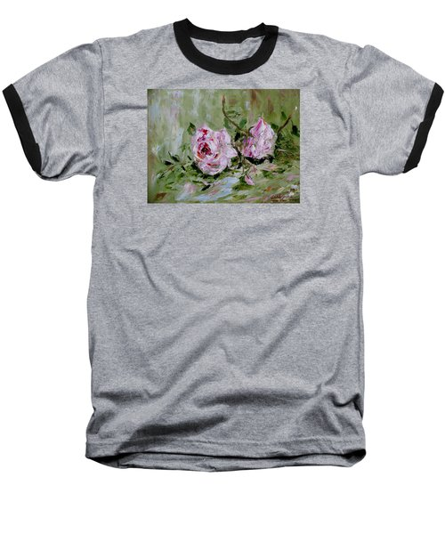 Two Roses Baseball T-Shirt
