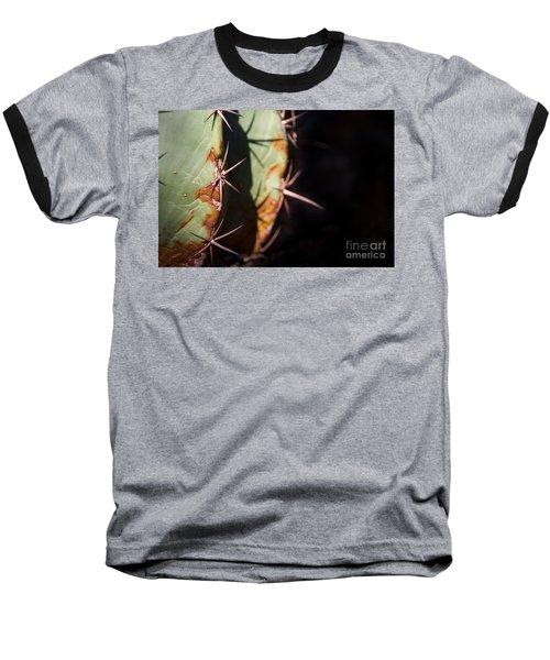 Two Shades Of Cactus Baseball T-Shirt