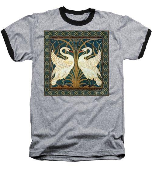 Two Swans Baseball T-Shirt
