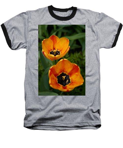 Two Tulips Baseball T-Shirt