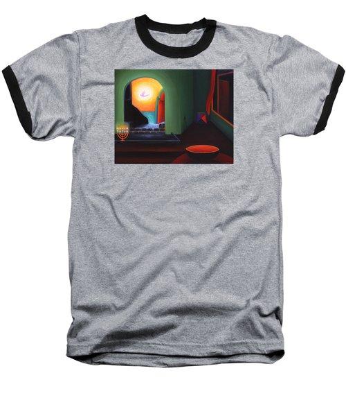 Two Worlds Baseball T-Shirt