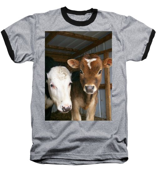 Baseball T-Shirt featuring the photograph Two's Company by Sara  Raber