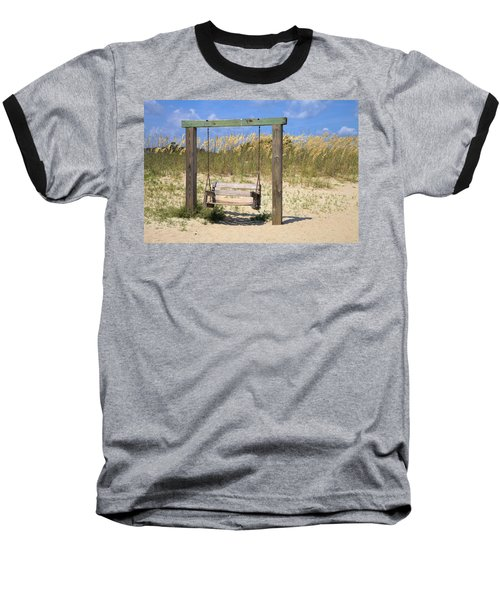 Tybee Island Swing Baseball T-Shirt