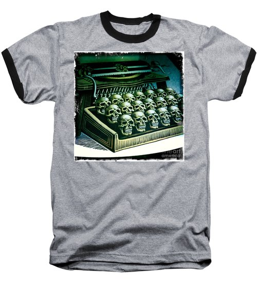 Typewriter With A Difference Baseball T-Shirt