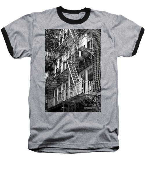 Typical Building Of Brooklyn Heights - Brooklyn - New York City Baseball T-Shirt