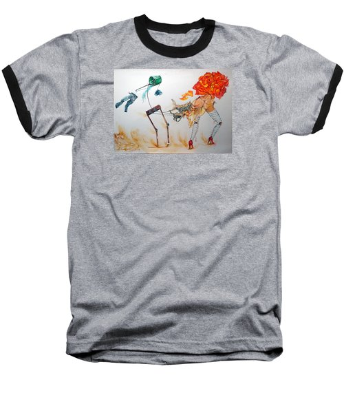 Tyrants Of Desire Baseball T-Shirt