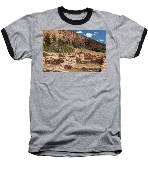 Tyuonyi Bandelier National Monument Baseball T-Shirt