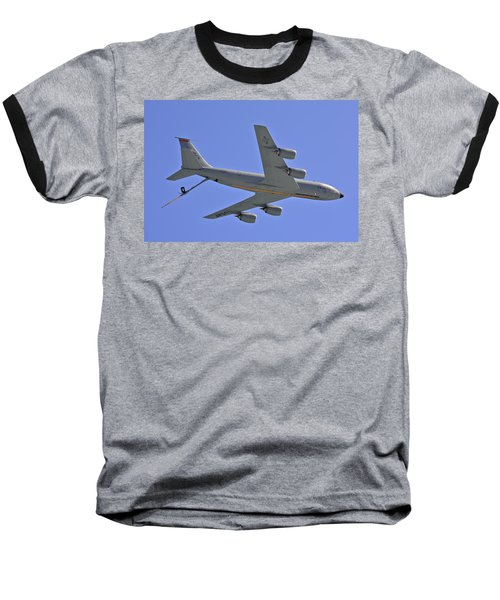 Baseball T-Shirt featuring the photograph U S Air Force Flyover by DigiArt Diaries by Vicky B Fuller