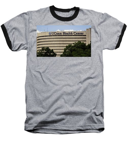 University Of Connecticut Uconn Health Center Baseball T-Shirt by Phil Cardamone