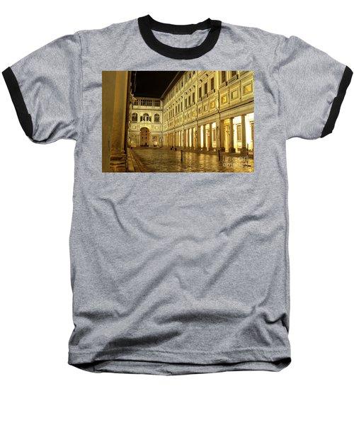 Uffizi Gallery Florence Italy Baseball T-Shirt