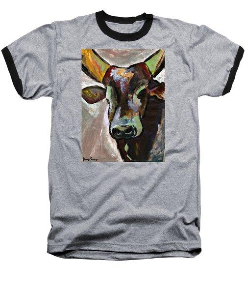 Ugandan Long Horn Cow Baseball T-Shirt