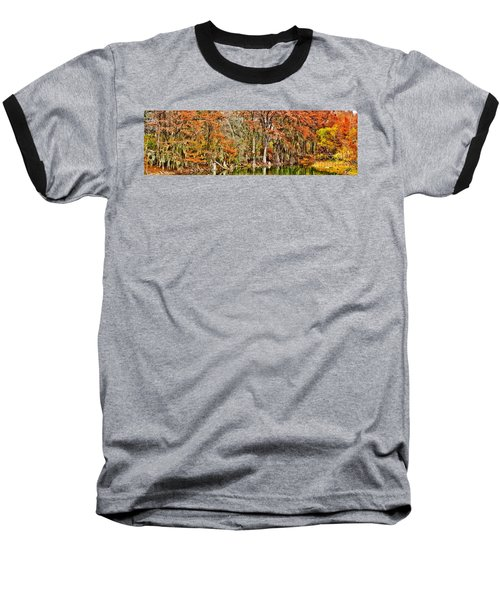 Ultimate Cypress Panoramic Baseball T-Shirt