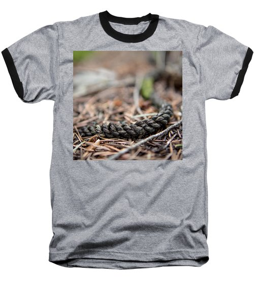 Baseball T-Shirt featuring the photograph Unbound by Aaron Aldrich