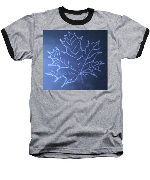 Baseball T-Shirt featuring the drawing Uncertaintys Leaf by Jason Padgett