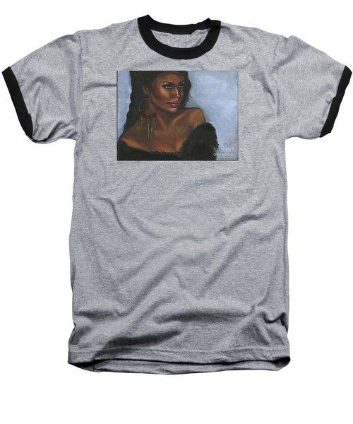 Baseball T-Shirt featuring the painting Undeniable by Alga Washington