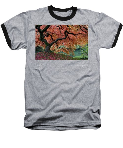 Under Fall's Cover Baseball T-Shirt