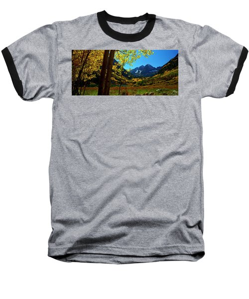 Under Golden Trees Baseball T-Shirt