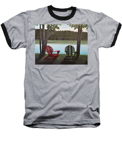 Under Muskoka Trees Baseball T-Shirt
