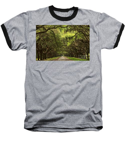 Under The Ancient Oaks Baseball T-Shirt