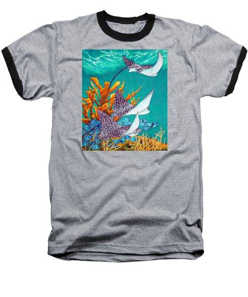 Under The Bahamian Sea Baseball T-Shirt