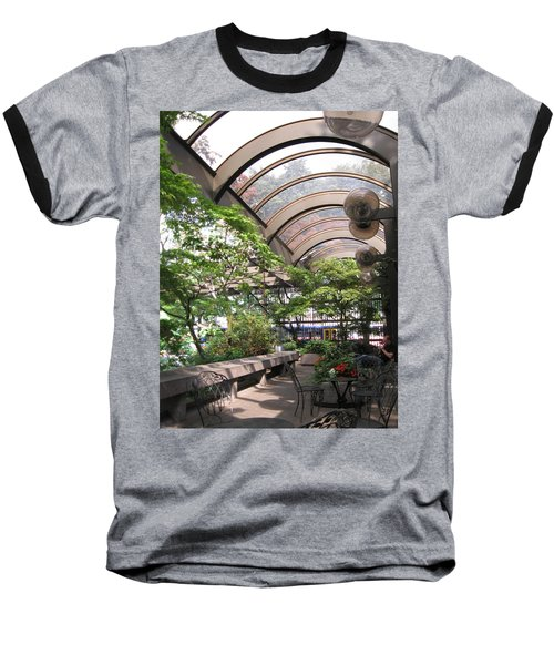 Under The Dome Baseball T-Shirt by David Trotter