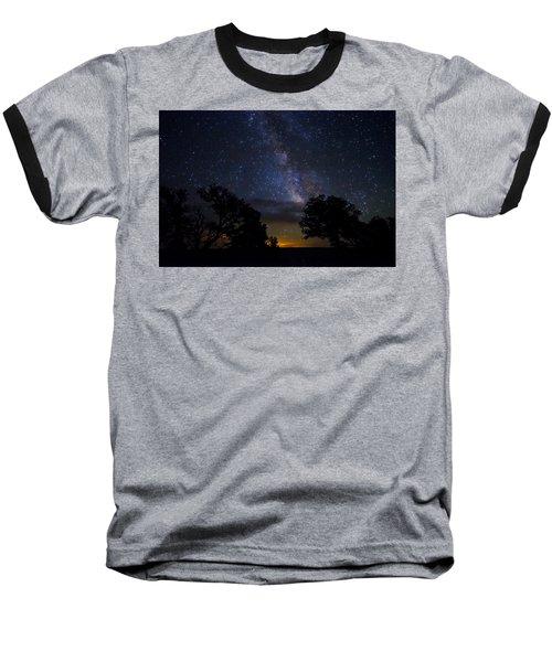 Under The Stars At The Grand Canyon  Baseball T-Shirt