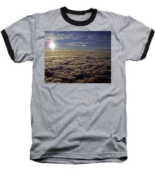 Baseball T-Shirt featuring the photograph Undercast And Sun by Greg Reed