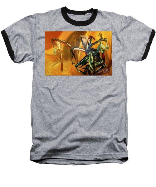 Undergrowth Disturbed Baseball T-Shirt
