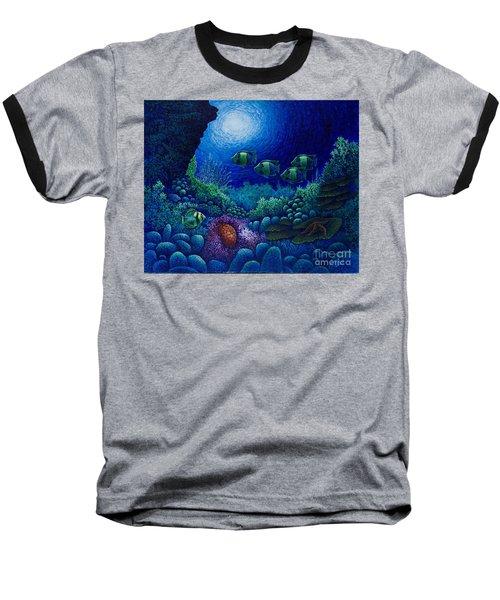 Undersea Creatures Iv Baseball T-Shirt